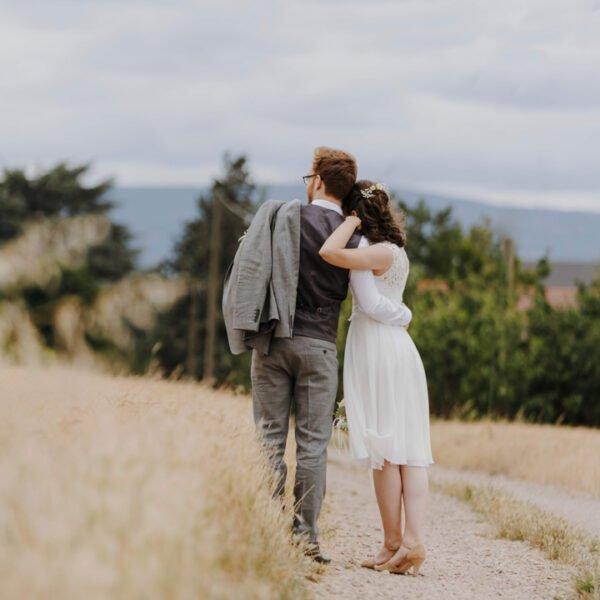 Julia und Dominic standesamtliche Hochzeit Outdoor Shooting Hochzeitsfotografin Lisa Treusch Mainz